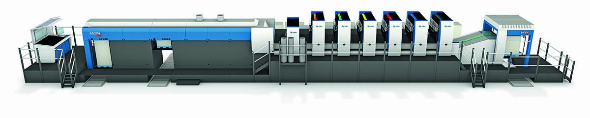 创新将令高宝大幅面利必达印刷机更高效更卓越
