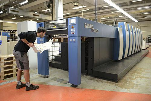 针对医药行业的高效四开印刷机——新型高宝利必达75 PRO印刷机