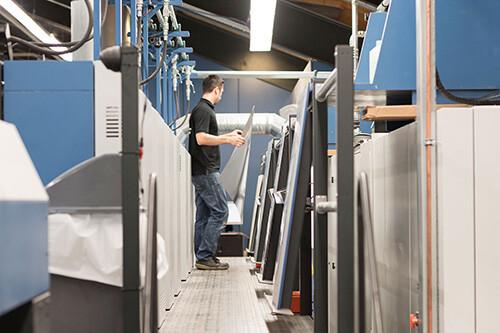 高宝利必达106八色印刷机能替代2台机器?这个是真的!