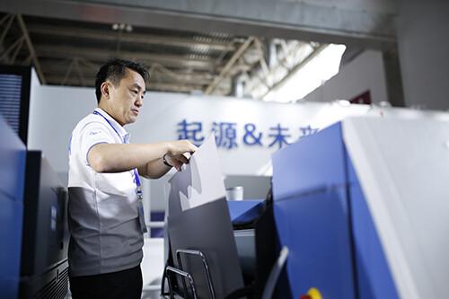 机会难得丨近距离观看世界印刷准备冠军——高宝利必达106-5印刷机