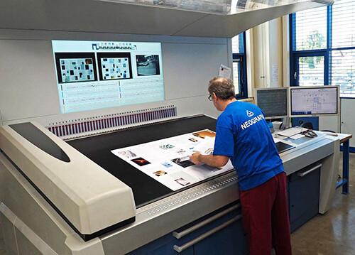 高宝大幅面印刷机在商业出版领域同样出彩