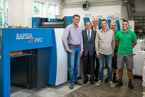 高宝利必达75 PRO四开幅面印刷机在商业和包装印刷领域火力全开