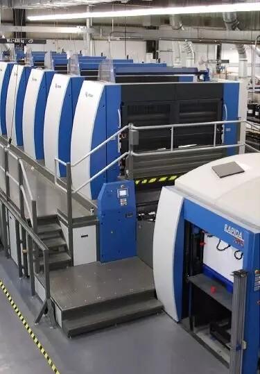 高宝利必达205超大幅面印刷机的成功故事