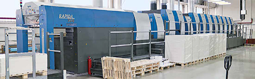 高宝多机组利必达106印刷机——包装领域的制胜法宝