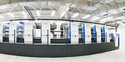 一切尽在掌握——八色利必达145双面印刷机是您强大的合作伙伴