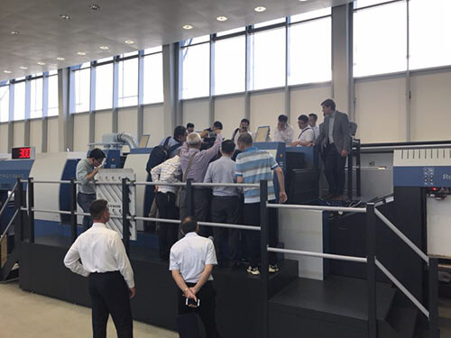 印后加工业的未来丨中国客户代表团提前布局,领略高宝利必达 RDC 106的非凡之处